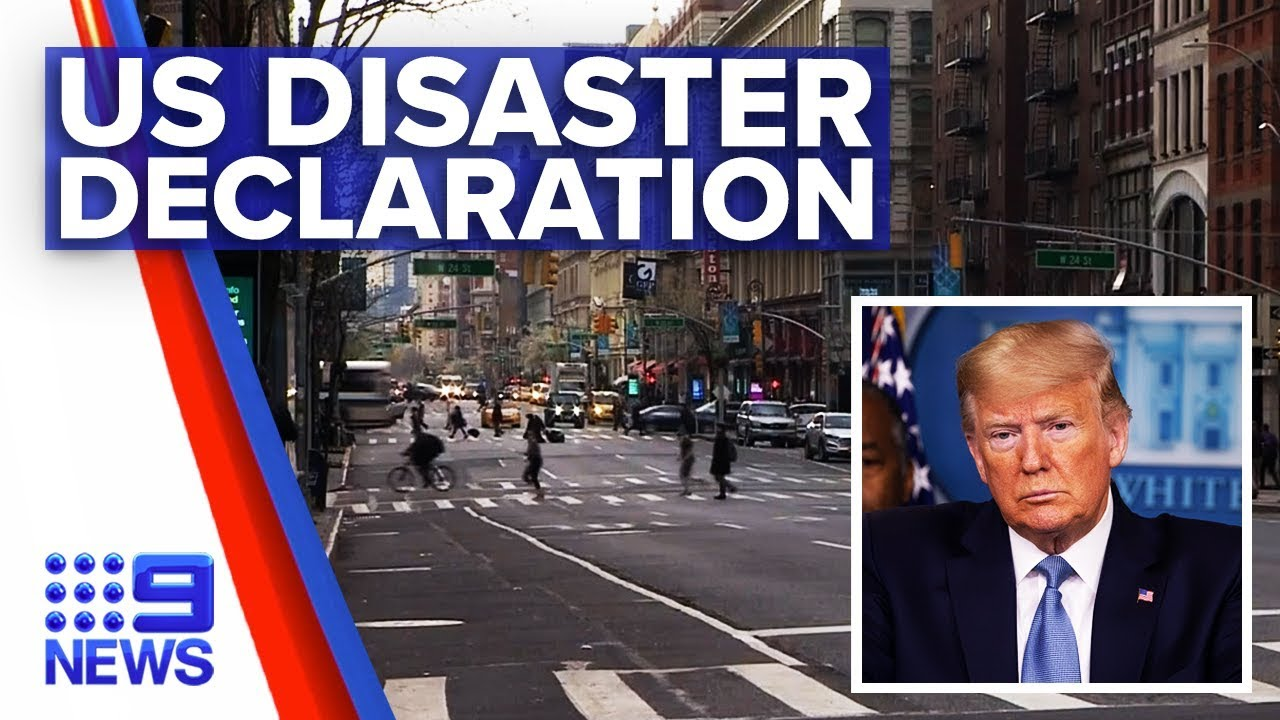 "Coronavirus: Trump signs New York as ""major disaster"" 