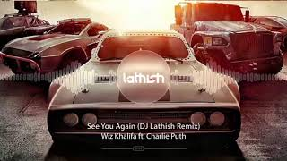 Fast & Furious - See You Again (DJ Lathish Remix) | A tribute to Paul Walker
