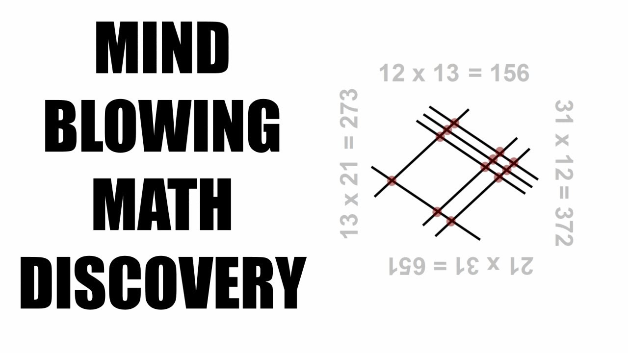 MIND-BLOWING MATH DISCOVERY - Multiply Numbers By Lines Rotation Geometry - YouTube