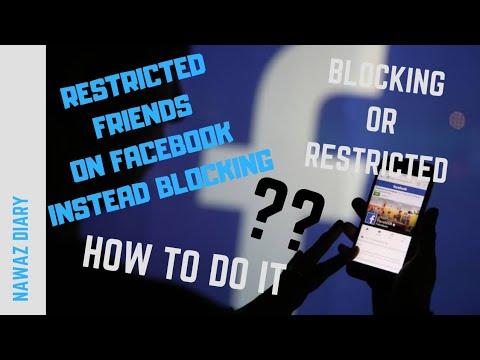 Restricted Friends On Facebook Instead Blocking || Hiding Your Post In Facebook