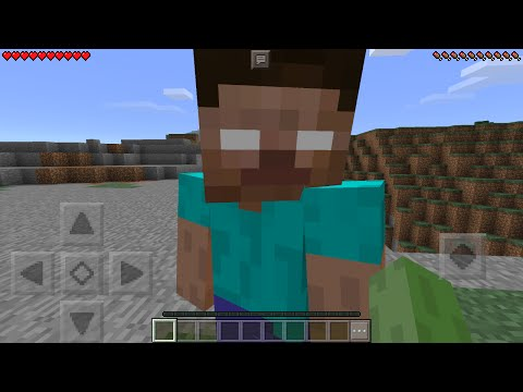 I FOUND HEROBRINE In Minecraft Pocket Edition (How To Spawn Herobrine With Mods)