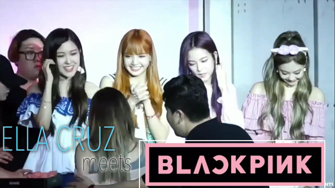 Vlog Ella Cruz Meets Blackpink
