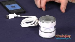 Glow Tunes Portable Rechargeable Mini Speaker from iHome
