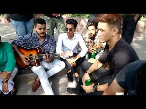 CHEN-K rapping LADKI live with Shehroz Ghouri