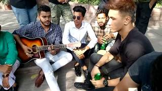 CHEN-K rapping LADKI live with Shehroz Ghouri
