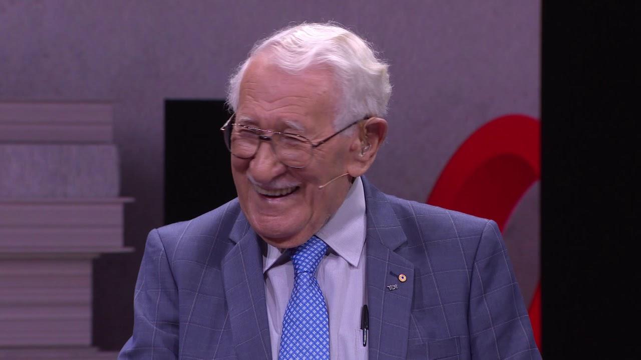 The happiest man on earth: 99 year old Holocaust survivor shares his story   Eddie Jaku   TEDxSydney