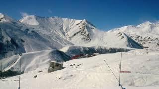 Горнолыжный курорт Гудаури Грузия Gudauri ski resort Georgia