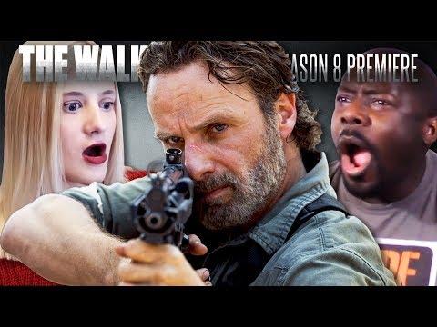 The Walking Dead: Season 8 Premiere Fan Reaction Compilation