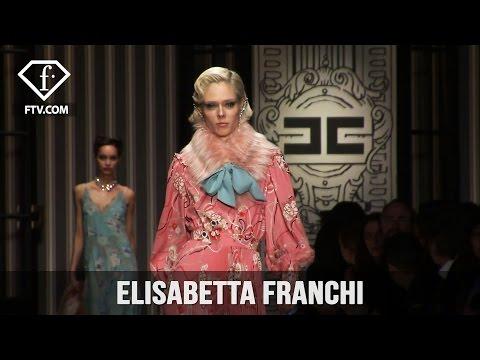 Milan Fashion Week Fall/WItner 2017-18 - Elisabetta Franchi | FashionTV