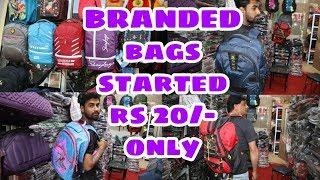 BRANDED BAGS WHOLESALE MARKET/MUMBAI/MY NEW LIFESTYLE