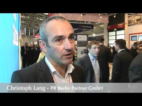Expo Real 2011 interview with Christoph Lang, PR Berlin Partner GmbH