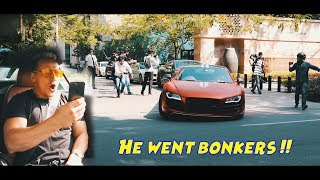 Vitaly Reacts to extremely LOUD Supercar in India