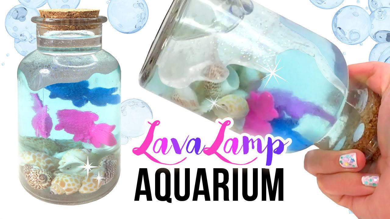 Quot Magic Quot Diy Lava Lamp Aquarium Watch Your Fish Grow