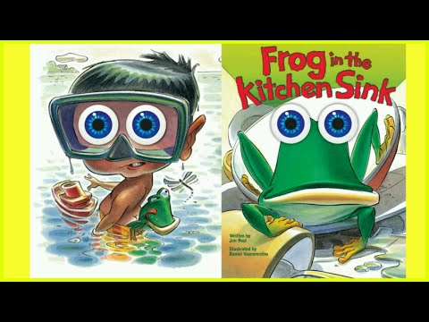 Frog in the Kitchen Sink! Storytime Read with me! - Story Time