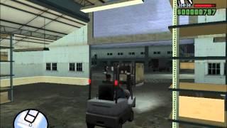 GTA San Andreas. Прохождение: Ограбление дяди Сэма (миссия 12).