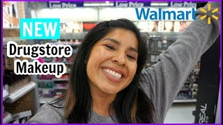 Come Shop With Me: NEW DRUGSTORE MAKEUP at WALMART!