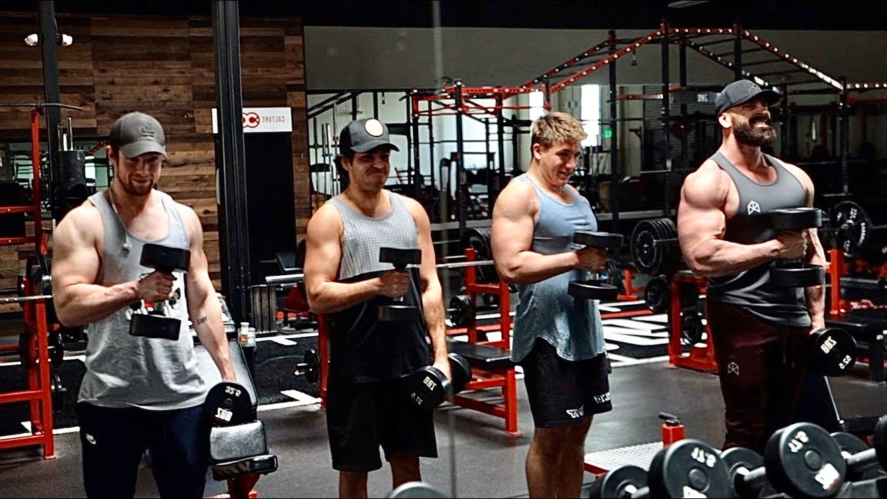 Arm Day With Nelk Boys And Steve Will Do It Bradley Martyn Youtube Rawgear He is also a instagram influencer. arm day with nelk boys and steve will
