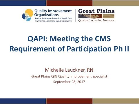 QAPI: Meeting the Requirements of Participation, Phase 2