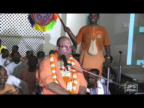20160716 H.H.Jayapataka Swami gives a Caitanya Lila class in Mayapur