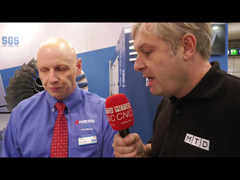 EMO 2019: Kyocera SGS technical review of precision cutting tools