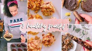 healthy dessert snacks