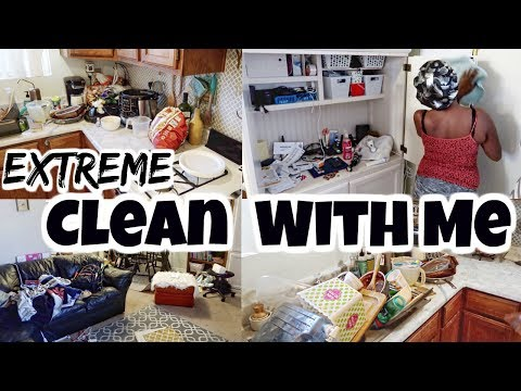 Extreme Clean With Me 2018 / Cleaning Motivation / Speed Cleaning Video