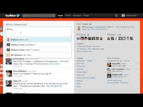 How to Create Conversation Using Twitter's Reply Feature
