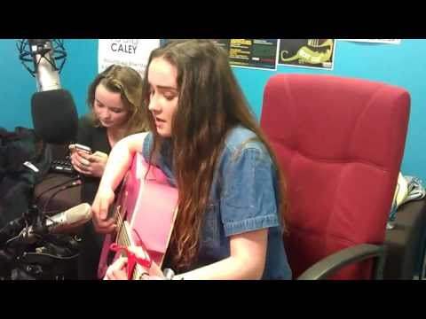 Radio Caley live lounge Natasha covering Video Game by Lana Del Ray