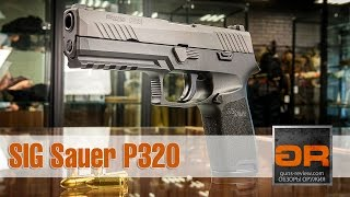 SIG Sauer P320 - New US ARMY Pistol | Review from Guns-Review.com