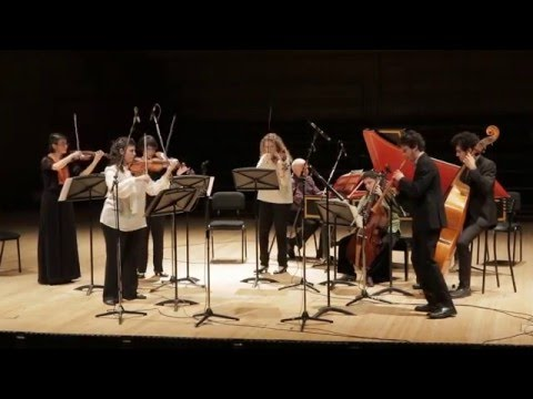 Jerusalem Baroque Orchestra - Bach Festival March 21th 2016@Jerusalem Theatre, Israel