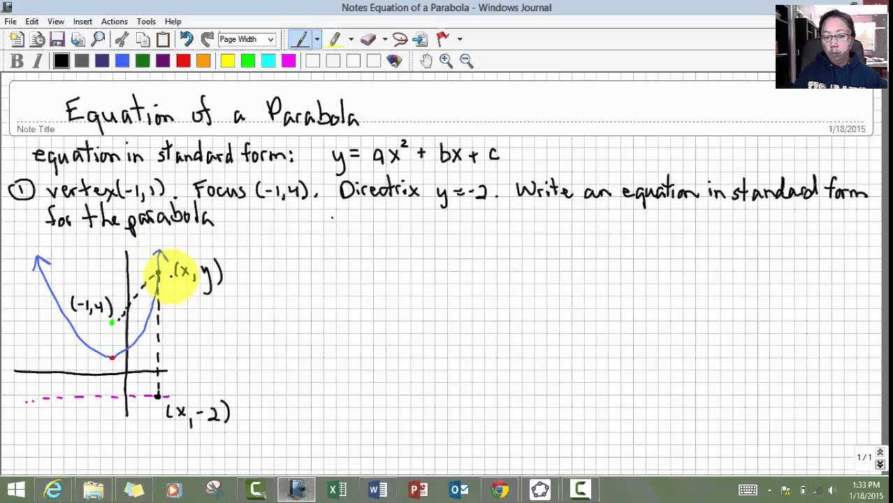 Deriving equation of parabola youtube deriving equation of parabola falaconquin