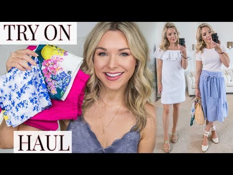 SUMMER CLOTHING TRY ON HAUL