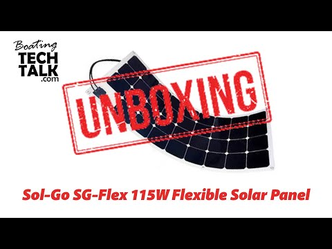 Sol-Go 115W Flexible Solar Panel - Unboxing and Product Review