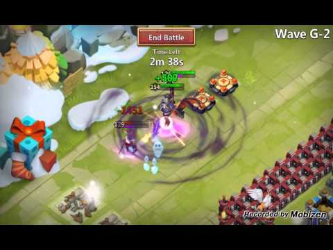 Castle Clash Moltanica Gameplay