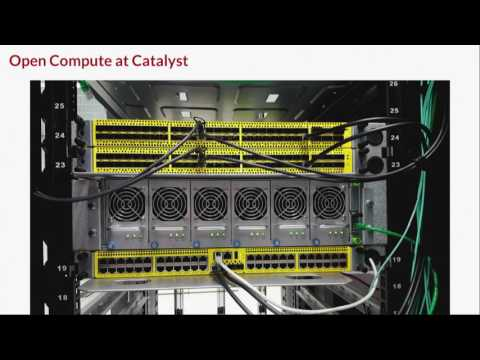 SDN Case Study: using designs from the Open Compute Project