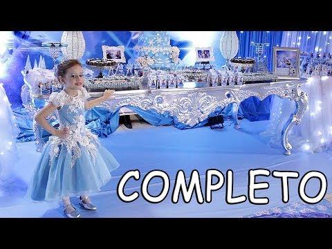 Feliz Aniversário Valentina animação da Frozen