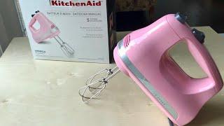KitchenAid 5-Speed Ultra Power™ Hand Mixer KHM512GU Unboxing | Chocolate Cupcakes
