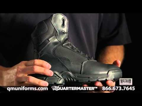 "Magnum 8"" Stealth Force Side Zipper Composite Toe Boot at Quartermaster - SP934"