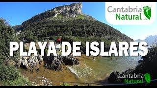 Cantabria Natural 🌞 PLAYA DE ISLARES - ARENILLAS - CASTRO URDIALES 🌞 PLAYAS CANTABRIA TURISMO