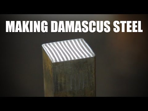 Making Damascus Steel for the First Time