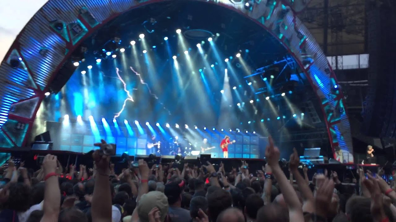 Thunderstruck Acdc Berlin 2015 Olympiastadion Live Youtube
