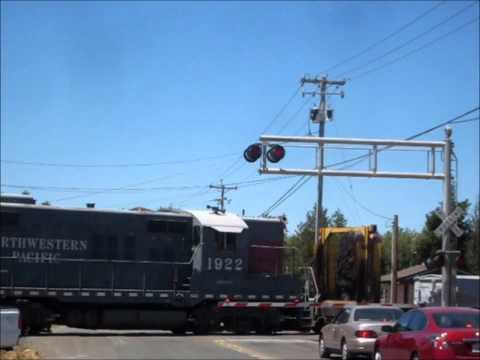 Railtrain on the Northwestern Pacific Railroad part two