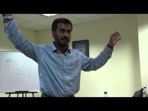 Hari Prasad Nadig talking about Wikipedia Community building