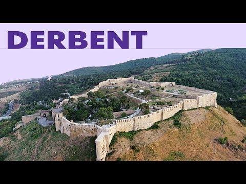 Derbent Fortress Citadel Naryn-Kala in Dagestan