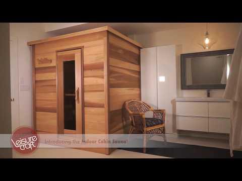 Dundalk LeisureCraft Indoor Cedar Sauna