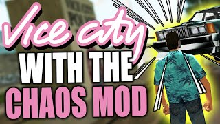 I destroyed GTA Vice City with the Chaos Mod