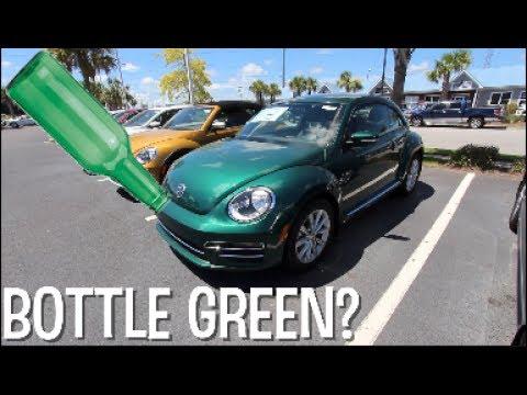 Bottle Green - New Volkswagen Beetle Color for 2017 | CAR VLOG
