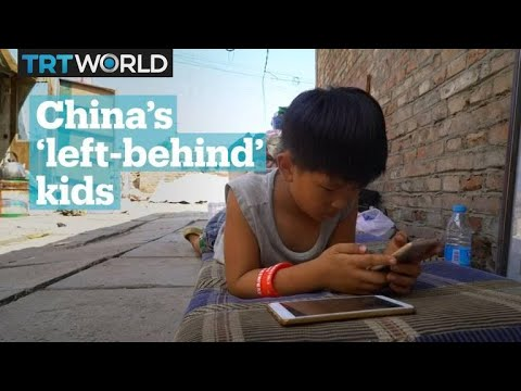 China's migrant workers and left-behind children