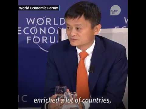 Jack Ma At The World Economic Forum 2018 (with subtitles)