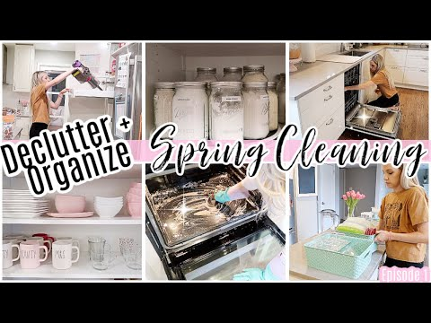 *NEW* SPRING CLEAN WITH ME 2020 // DECLUTTER AND ORGANIZE YOUR KITCHEN // TIFFANI BEASTON HOMEMAKING
